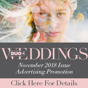 DUO Weddings Nov18 Block Ad
