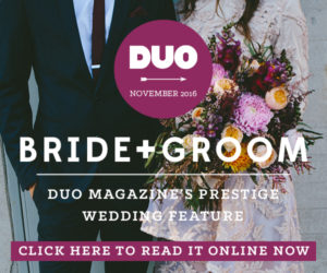 Ad One_DUO Bride+Groom_Nov16