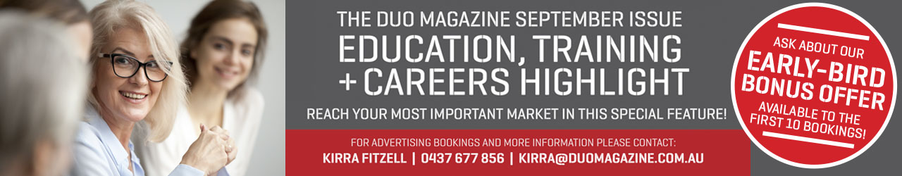 Education, Training + Careers Strip Ad Sep18