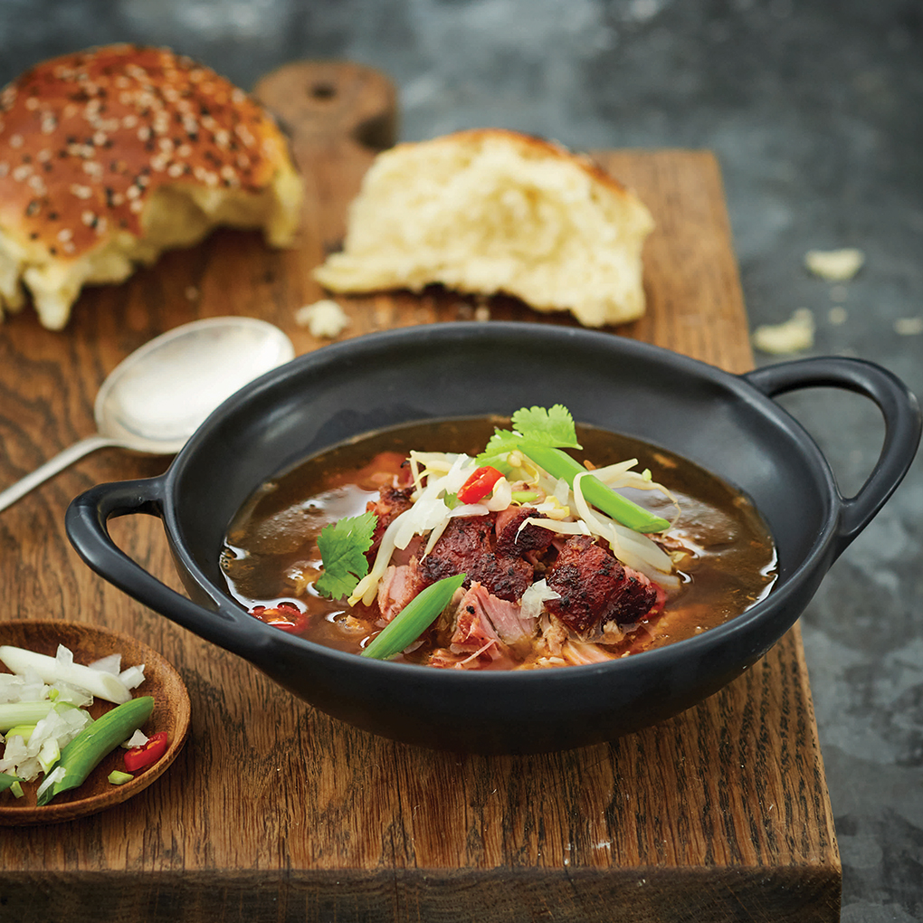 Apricot & Spring Onion Pork Rib Soup by Adam Roberts