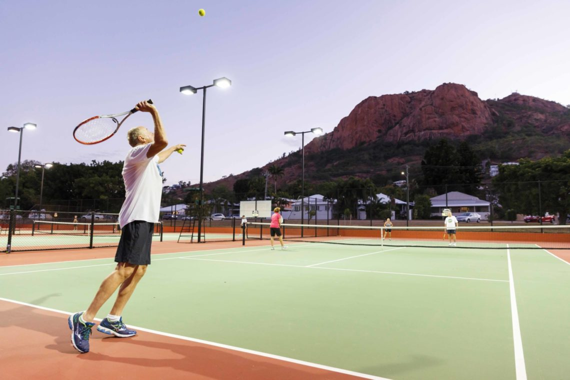 Townsville Tennis in North Ward Townsville - QLD club of the year 2016